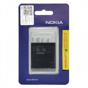 BL-5K باطری اصلی گوشی موبایل نوکیا