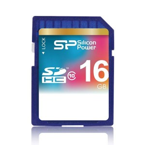 Silicon Power SDHC Class 10 - 16GB کارت حافظه