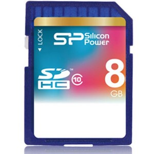Silicon Power SDHC Class 10 - 8GB کارت حافظه