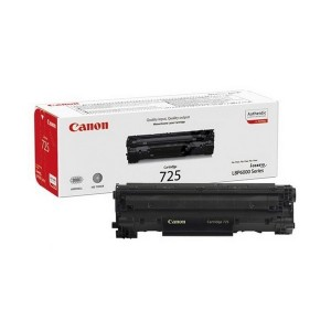 Canon 725BK کارتریج طرح فابریک کانن