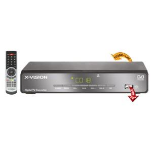 X.Vision XDVB-353 گیرنده دیجیتال