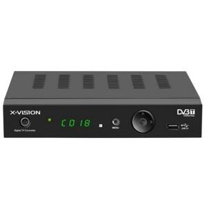 X.Vision Set-Top Box XDVB-107 گیرنده دیجیتال