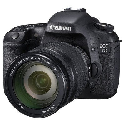 Canon EOS 7D - Kit EF 18-200 IS دوربین کانن