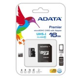 Adata microSDHC Card UHS-I With Adapter-16GB کارت حافظه