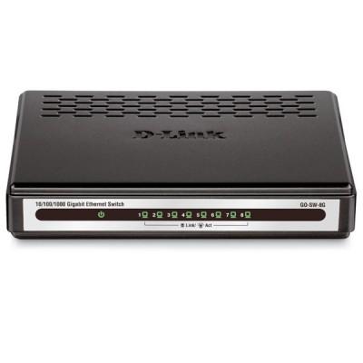 DES-1008A 8-Port 10/100Mbps سوییچ دی لینک