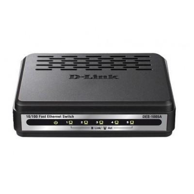 DES-1005A 5-Port 10/100 Switch سوییچ دی لینک