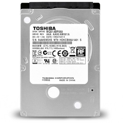 Toshiba 2.5 Inch Internal Hard Drive - 500GB هارد دیست لپ تاپ
