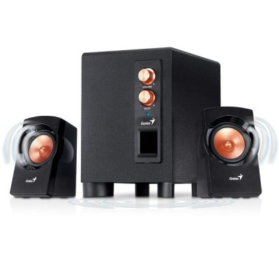 Genius SW-2.1 360 Powerful 3-Piece اسپيکر جنيوس