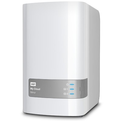 My Cloud Mirror Personal Cloud Storage NAS - 8TB ذخیره ساز تحت شبکه وسترن دیجیتال