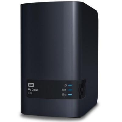 My Cloud EX2 Personal Cloud Storage NAS - 8TB ذخیره ساز تحت شبکه وسترن دیجیتال