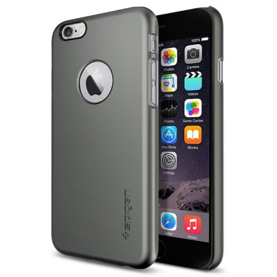 Apple iPhone 6 Spigen Case Thin Fit A بامپر