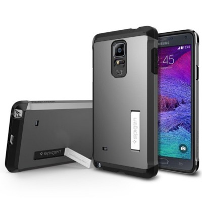 Samsung Galaxy Note 4 Spigen Case Tough Armor کاور اسپیگن