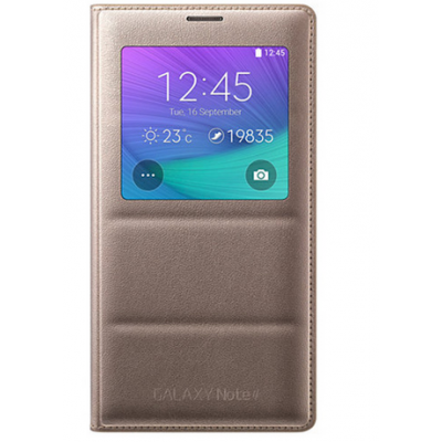 Samsung Galaxy Note 4 S View Cover کاور اسپیگن