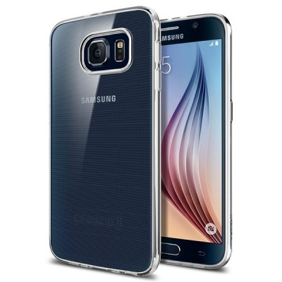 Samsung Galaxy S6 Spigen Liquid Crystal Cover کاور اسپیگن