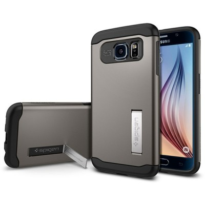 Samsung Galaxy S6 Edge Spigen Slim Armor Cover کاور اسپیگن