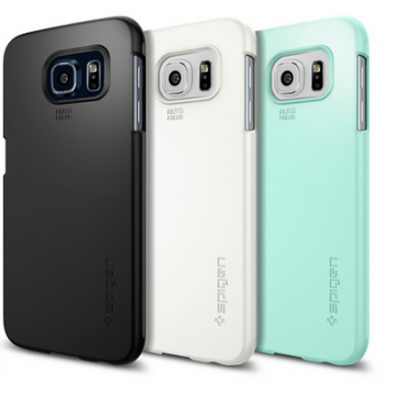 Samsung Galaxy S6 Spigen Tin Fit Case کاور اسپیگن