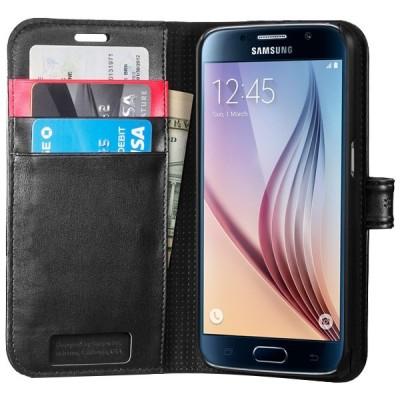Samsung Galaxy S6 Spigen Wallet S Cover کیف کلاسوری اسپیگن