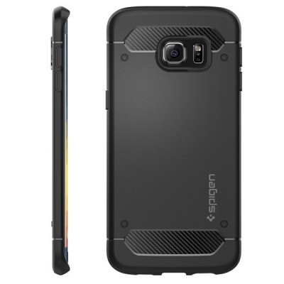 Rugged Armor Cover Samsung Galaxy S6 Edge Plus کاور اسپیگن