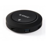 ORICO Wireless Charging 4 Port USB3.0 HCP-5US هاب يو اس بي