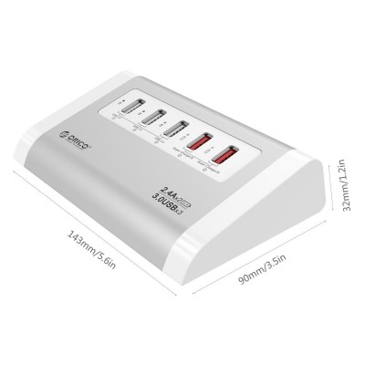 ORICO USB3.0 HUB UH3C2 هاب يو اس بي