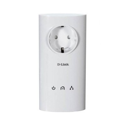 D-Link DHP-P307AV PowerLine AV PassThrough Starter Kit مبدل شبکه