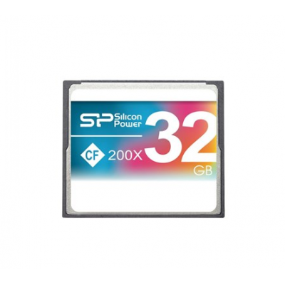 Silicon Power 32GB CF 200X کارت حافظه