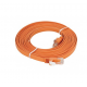 D-Link NCB-C6UORGF1-5 5M Category 6 UTP Flat Patch Cord کابل شبکه