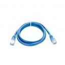 D-Link NCB-5EUBLUR1-1 CAT5E UTP 24AWG Patch Cord 1M, PLUG 30U کابل شبکه