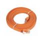 D-Link NCB-5EUORGF1-5 5M Category 5E UTP Flat Patch Cord کابل شبکه