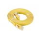 D-Link NCB-C6UYELF1-3 3M Category 6 UTP Flat Patch Cord کابل شبکه