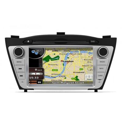 Hyundai IX 35 Android مانیتور فابریک خودرو هیوندای