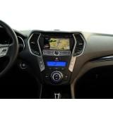 Hyundai IX 45 New مانیتور فابریک خودرو هیوندای