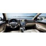 Hyundai IX55 مانیتور فابریک خودرو هیوندای
