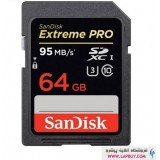 SanDisk Extreme Pro SDXC 64GB Class 10 کارت حافظه