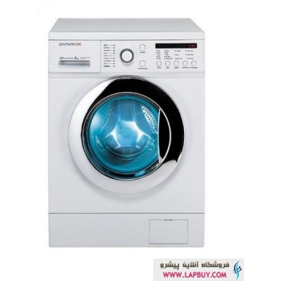Daewoo DWK-8212CT Washing Machine - 8 Kg ماشین لباسشویی