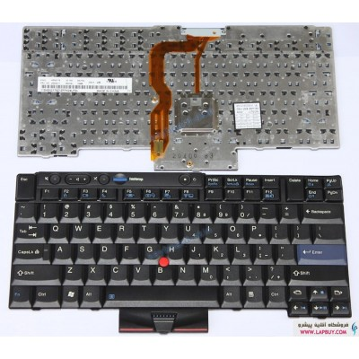Lenovo IBM Thinkpad T520 کیبورد لپ تاپ لنوو