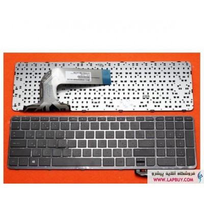 HP Pavilion 17 کیبورد لپ تاپ اچ پی