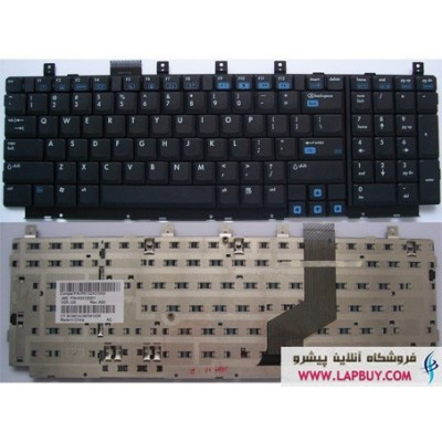 Keyboard Laptop Hp DV8000 کیبورد لپ تاپ اچ پی