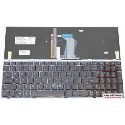 IdeaPad Y500 + Backlite کیبورد لپ تاپ لنوو