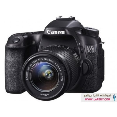 Canon EOS 70D + 18-55 IS STM دوربین دیجیتال کانن