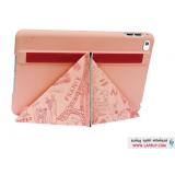 Ozaki Ocoat Travel Paris Flip Cover Apple iPad mini 4 کیف کلاسوری اوزاکی آی پد مینی