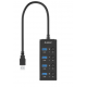 Orico W9PH4 4-Port USB-Hub هاب يو اس بي