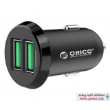 Orico UCE-2U 17W Dual Port USB Car Charger شارژر فندکی دو پورت