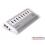 Orico UH4C4 4 Port USB 3.0Hub with 4 Port USB Charger هاب يو اس بی