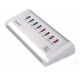 Orico UH4C4 4 Port USB 3.0Hub with 4 Port USB Charger هاب يو اس بی