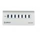 Orico M3H7-EU 7 Port USB 3.0Hub هاب يو اس بی