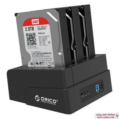 DOCKING STATION ORICO 6638US3-C داک هارد دیسک