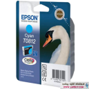 Epson T0812 Cyan کارتریج جوهر افشان اپسون
