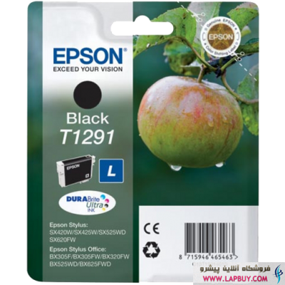 Epson T1291 Black کارتریج جوهر افشان اپسون