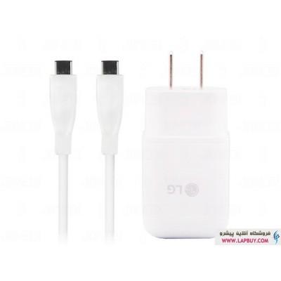 LG Travel Charger Adapter MCS-N04WD Type C شارژر اصلی ال جی